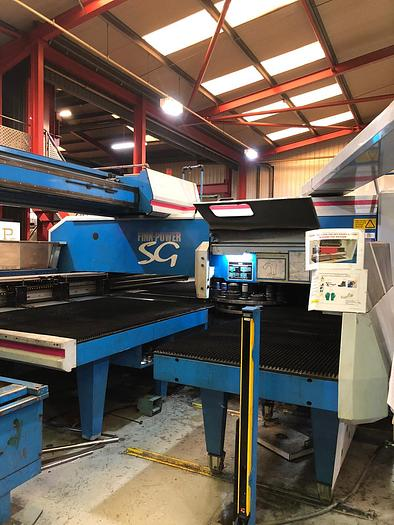 Used 2000 FINNPOWER TRS5 SB CNC shear punching machine