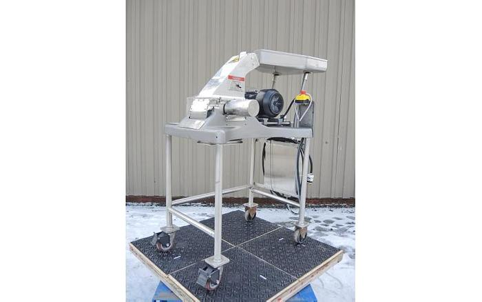 Used USED FITZ MILL, MODEL D6, SWINGING KNIVES, STAINLESS STEEL, SANITARY, VARIABLE SPEED
