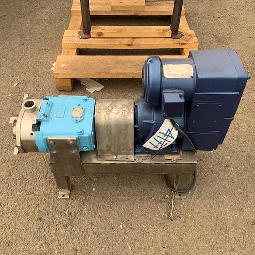 Used Waukesha Model 30 Positive Displacement Pump 30
