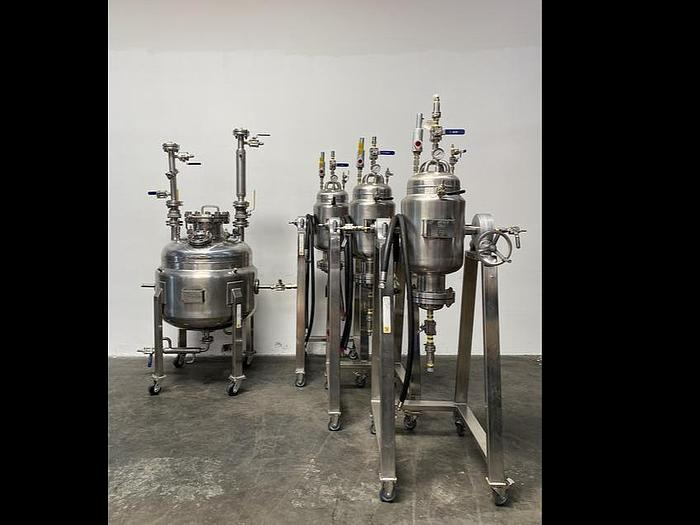 Used Purge Labs Extraction System Mini-Mag A-45 ASME Certified 200 Liter Collection Vessel