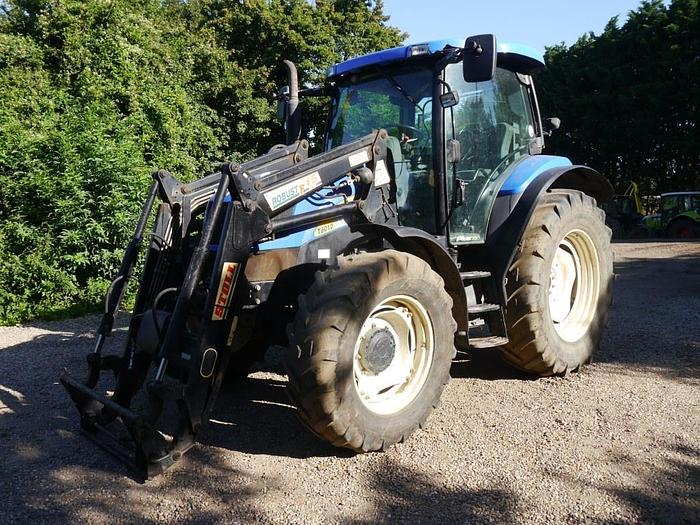 New Holland T6010 Plus 4wd Tractor