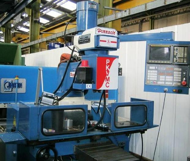 Used Pinnacle PKVMC Toolroom Milling Machine