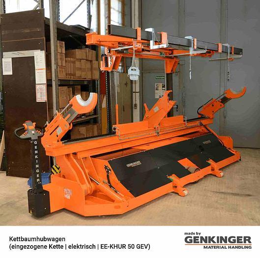 Genkinger Warp Beam Lift Truck (Drawn-in Chain electric  EE-KHUR 20…50)
