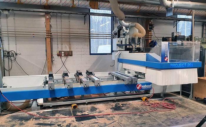 2015 Masterwood Italy CNC machine center MASTERWOOD Project 265