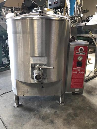 Used Vulcan 40 Gallon Self Contained Kettle