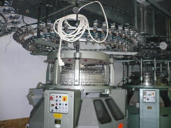 "Gebraucht Rundstrickmaschine TERROT  I3P-184 E18/30""/84"