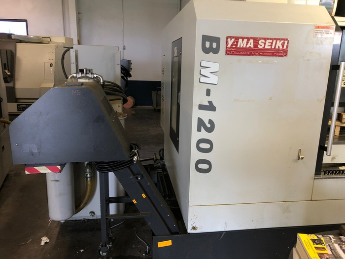 2010 Yama Seiki BM-1200 with Rotary Table