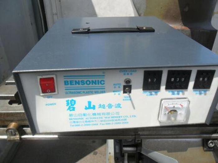 BENSONIC SERIES 2000 SMALL ULTRASONIC WELDER