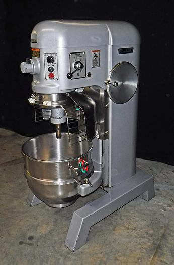 Used USED HOBART® 60-QUART MIXER WITH BOWL GUARD, MODEL H600T, IN GREAT CONDITION!