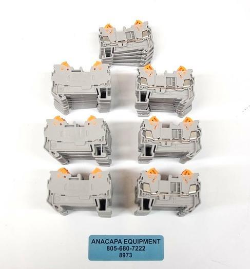 Phoenix Contact QTC1.5 3205019 DIN Rail Terminal Blocks LOT OF 65 NEW (8973)R