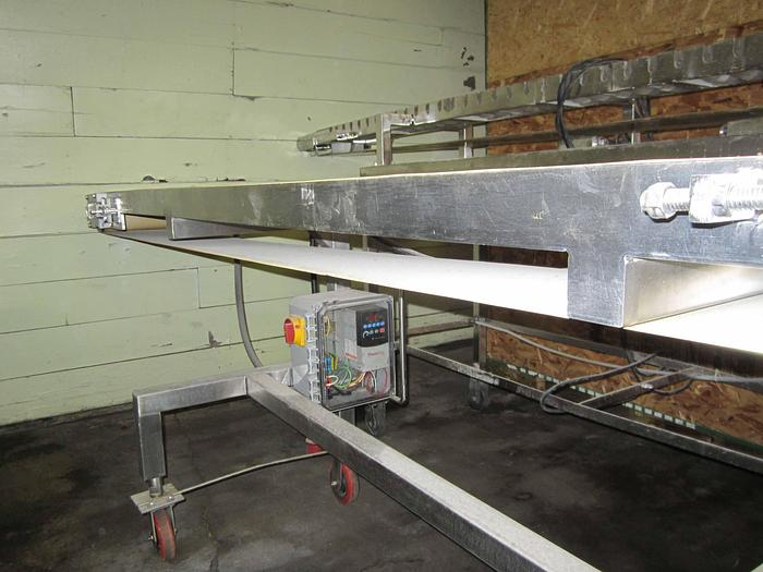 STAINLESS STEEL 9' CONVEYOR