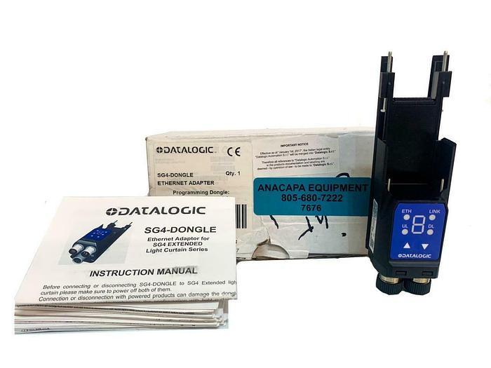 Used Datalogic SG4-Dongle Ethernet Adapter New (7676) W