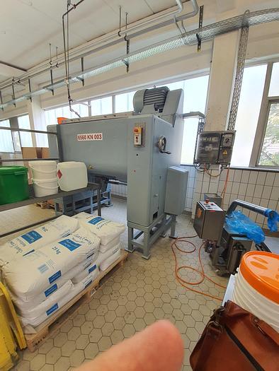 Gebraucht gebr. Doppelwellen-Mischer PEHA-BEETZ Type MK-2/1000 mit ca. 1.000 Liter Nutzvolumen.