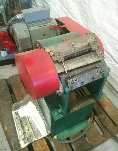 """Used Heavy Duty Metal Stock 5"""" Chopper 1 HP with New Blades 220V 3 Phase"""