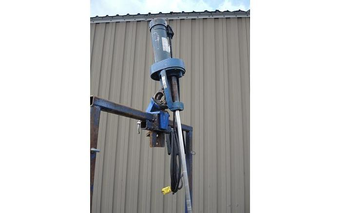 USED CLAMP-ON MIXER, 1 HP, VARIABLE SPEED