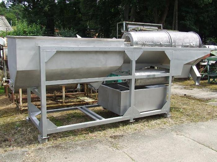 Used Płuczko-separator do zielonego groszku