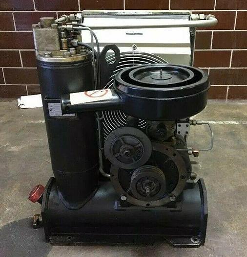 Used Bauer Nitrogen Air Compressor Rotorcomp Verdichter B100-2.7 7500RPM  217PSI