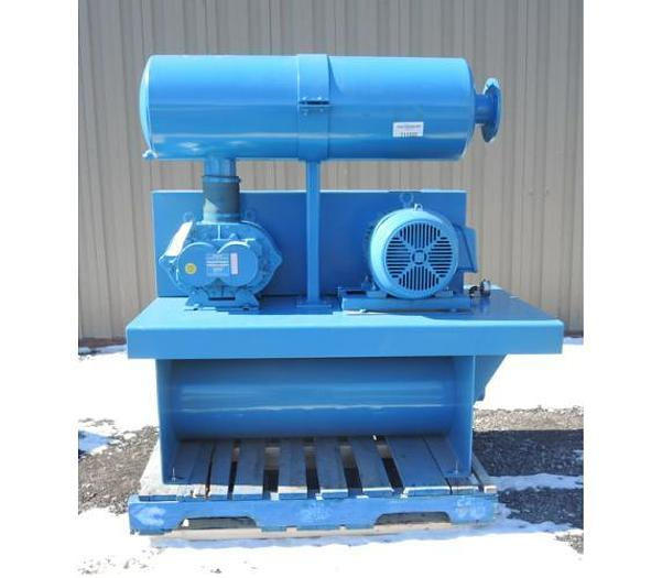 """Used USED BLOWER, ROTARY LOBE, 425 CFM, 4"""" INLET & OUTLET"""