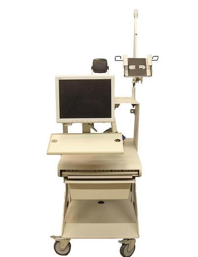 Used Nicolet Viking Select Medical Cart For EMG Machine w/ NEC Monitor USED (7311) R