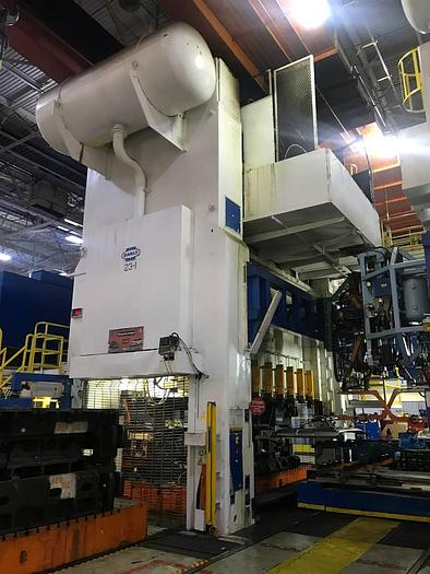 "2000 ton Danly 180""x96"" SSDC Stamping Press"
