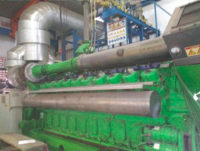 2.731 MW 2009 Used GE Jenbacher J620 Natural Gas Generators
