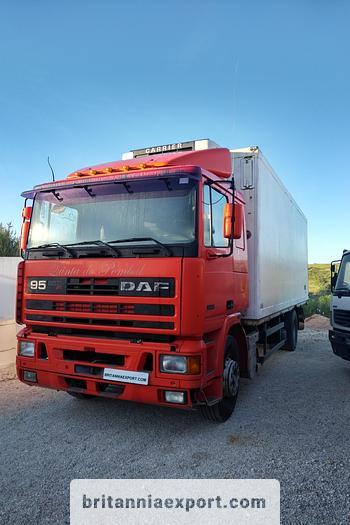 Used 1994 DAF 95 360 ATI refrigerated  truck
