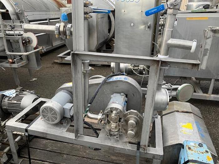 Used Waukesha Model 030-U1 Positive Displacement Pump