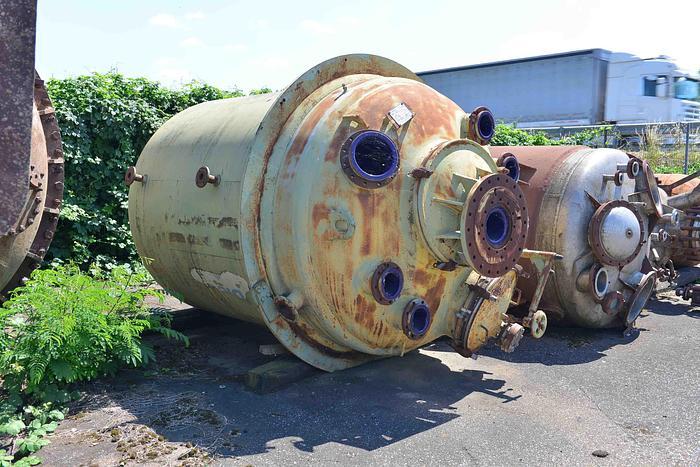 Usata Reattore DE DIETRICH da 8700 Litri