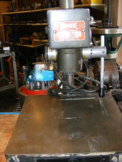 Dumore Model 37-021 High Speed Sensitive Drill Press 5360