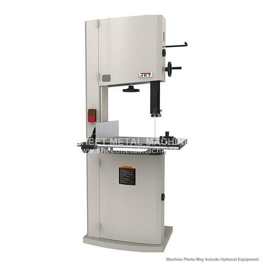 JET JWBS-18-3 Steel Frame Bandsaw 3HP 230V 714750