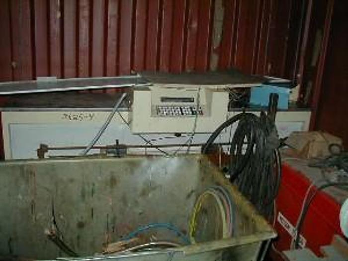 Used Miller Mfg. Ink mixing system