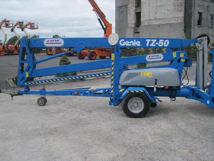 Genie TZ-50 – 50 foot towable boom