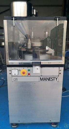 Used Manesty D4 20 Station Rotary Tablet Press