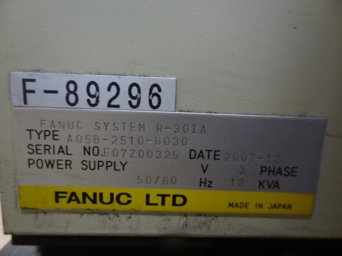 FANUC R2000iB/165F 6 AXIS CNC ROBOT W/R30iA CONTROL