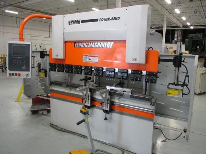 """Used 44 TON X 82-1/2"""", ERMAK, POWERBEND 7X44, 2012, CNC PRESS BRAKE"""