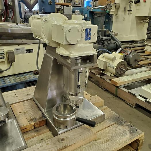 Used 1/2 PINT ROSS DOUBLE PLANETARY MIXER - S/S - JACKETED