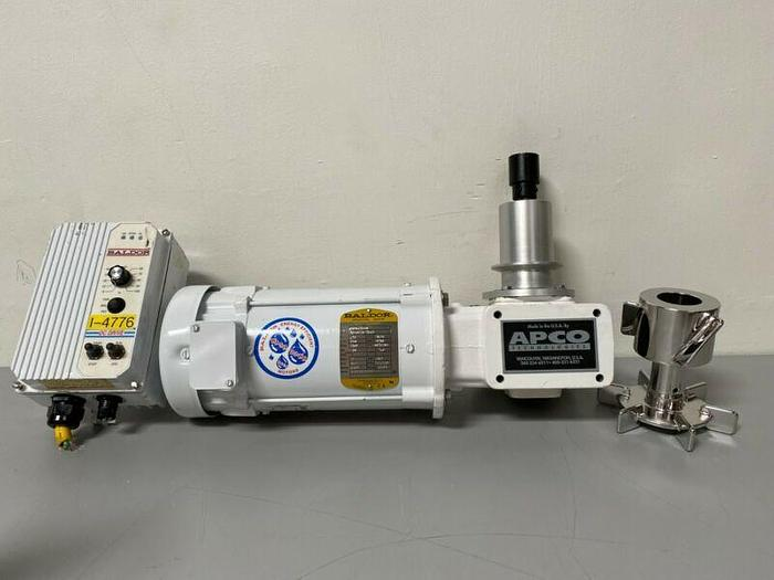 Used Apco Bottom Magnetic Mixer w/ .75 HP Motor & Controller