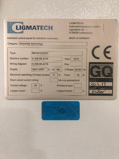 2019 Homag Ligmatech MPH 410 Case Clamp