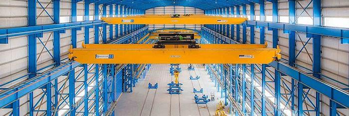 Used 2014 Stahl  10 ton Overhead Travelling/Bridge Crane