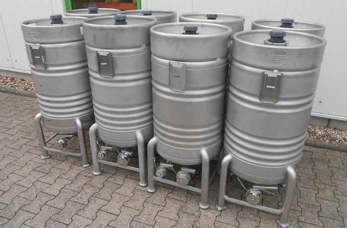 Used X14871D - Drums 200 Litre Stainless Steel EUROCONT LB 200