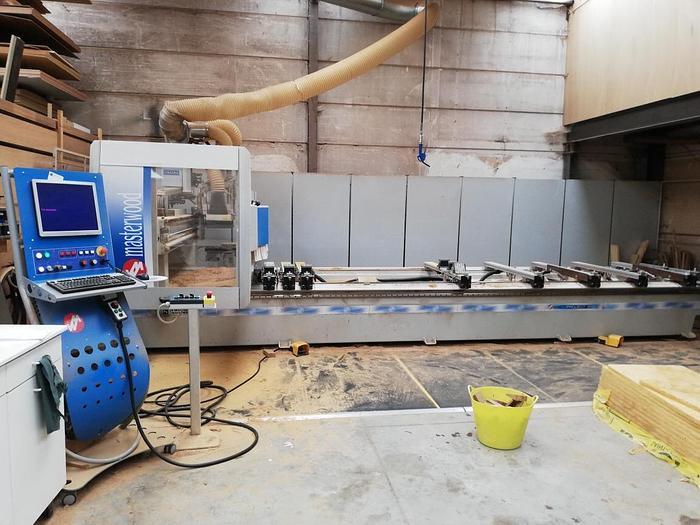 MEM001 2012 Masterwood Project 310 V4L Centro di lavoro 4 assi