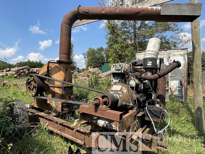 """Used Soderhamm 48"""" Portable Chipper with Diesel Engine"""