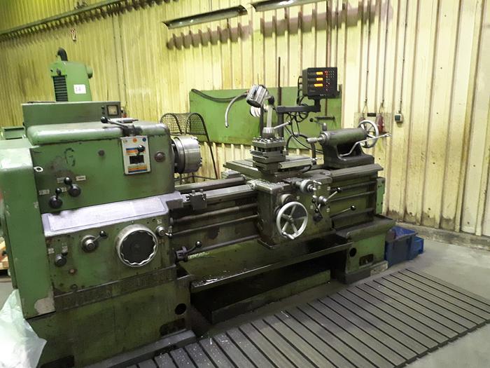 Gebraucht 1968 Weisser Heilbronn Hektor L+Z Drehmaschine mit Digitalanzeige
