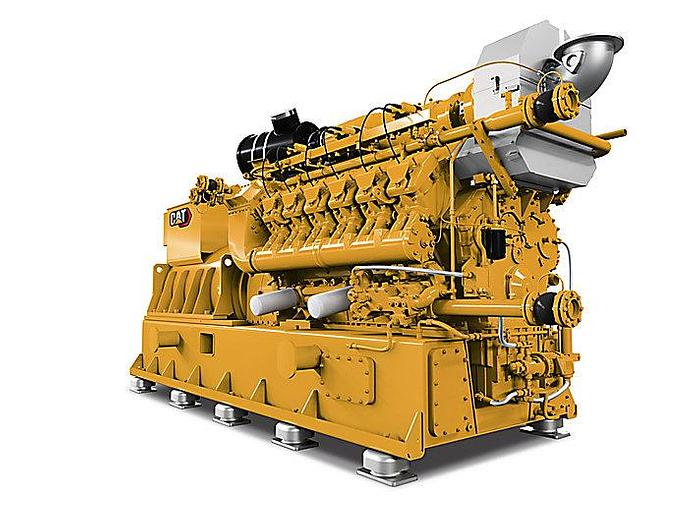 Used 6 MW 2015 Used Caterpillar СG170-12 Natural Gas Power Plant