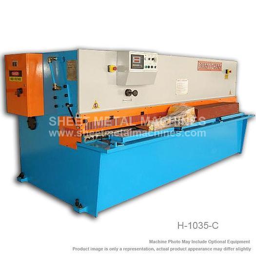 BIRMINGHAM Hydraulic Swing Beam Type Shear H-1035-C