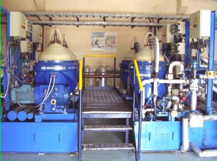 105 MW 2001 Used Wartsila 18V46 HFO Power Plant
