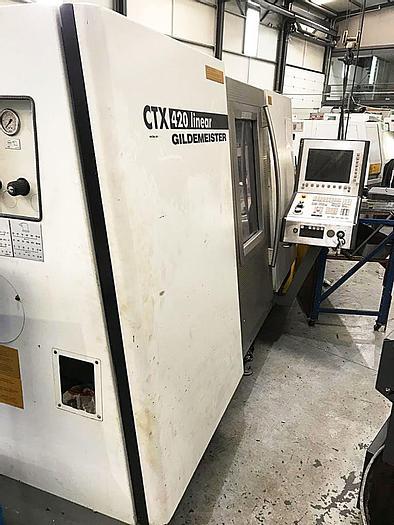 Used DMG GILDEMEISTER CTX 420 - 2002