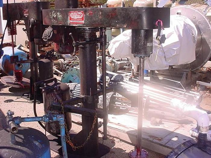 Used 7.5 HP/XP MYERS HIGH SPEED DISPERSER (#9829)