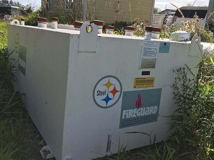 Fireguard Double wall 1000 Gallon tank