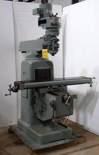 "Used 9"" x 49"" CAMTROL  (Bridgeport copy) Model 2H Vertical Milling Machine"